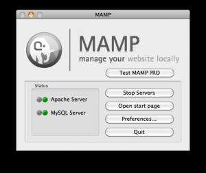 MAMP Standard Interface