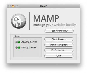 MAMP Standard Interface